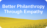 Better Philanthropy Through Empathy